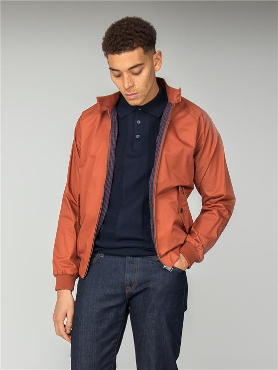 Rich Orange Original Harrington Jacket | Ben Sherman | Est 1963 loving the sales