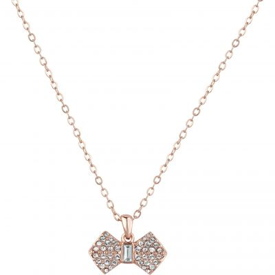 Sanra Solitaire Pave Bow Pendant loving the sales