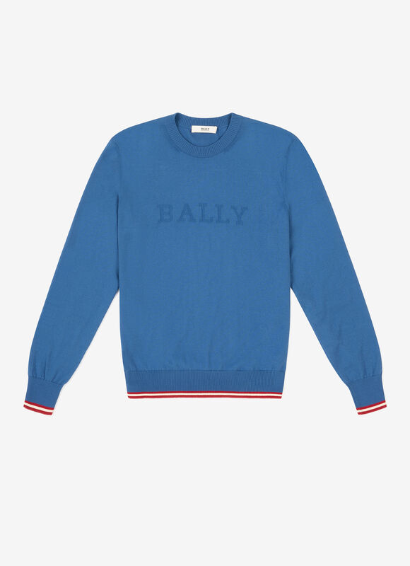 Bally Stripe Sweater loving the sales