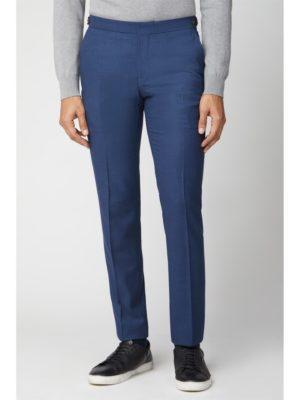 Ben Sherman Bright Blue Fleck Slim Fit Suit Trouser 36r Blue loving the sales