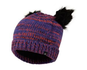 Dare 2b - Girls' Hastily Bobble Hat Simply Purple Fiery Coral loving the sales