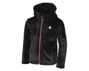 Dare 2b - Girls' Prelim Full Zip Hooded Fleece Black loving the sales