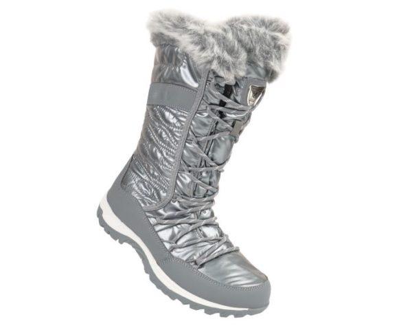 Dare 2b - Women's Kardrona Ii Metallic Faux Fur Trimmed Snow Boots Silver loving the sales