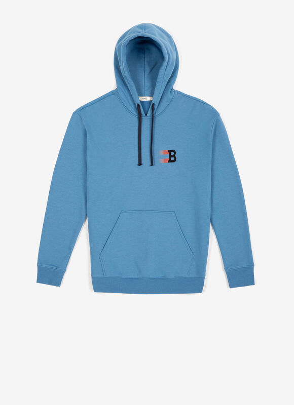 Hooded B Print Sweatshirt loving the sales