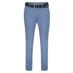 Magee 1866 Blue Callan Washed Tailored Fit Trousers loving the sales