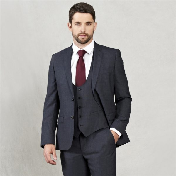 Magee 1866 Grey Travel Mix & Match Check 3-Piece Suit Jacket loving the sales