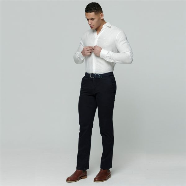 Magee 1866 Ivory Linen Dunross Tailored Fit Shirt loving the sales