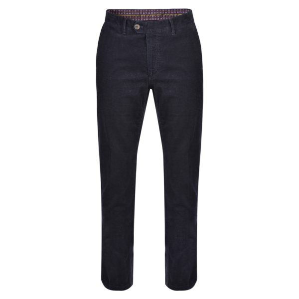 Magee 1866 Navy Dungloe Needle Cord Classic Fit Trousers loving the sales