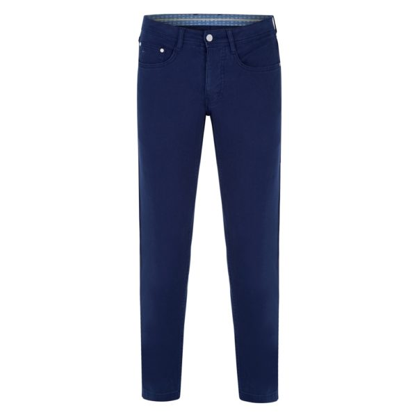 Magee 1866 Navy Finver Tailored Fit Trousers loving the sales