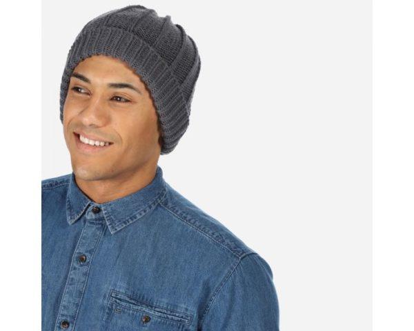 Men's Harrell Ii Chunky Knit Hat Rock Magnet Grey loving the sales