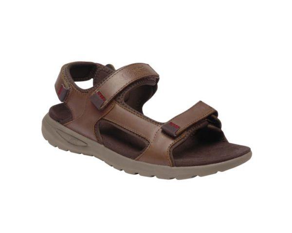 Men's Marine Leather Walking Sandals Mustang loving the sales