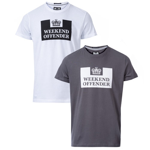 Mens Siegel 2 Pack Prison T-Shirts loving the sales
