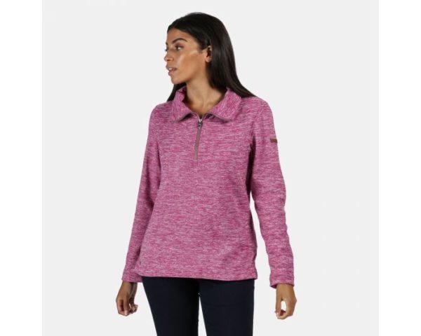 Women's Fidelia Lightweight Half-Zip Fleece Violet loving the sales