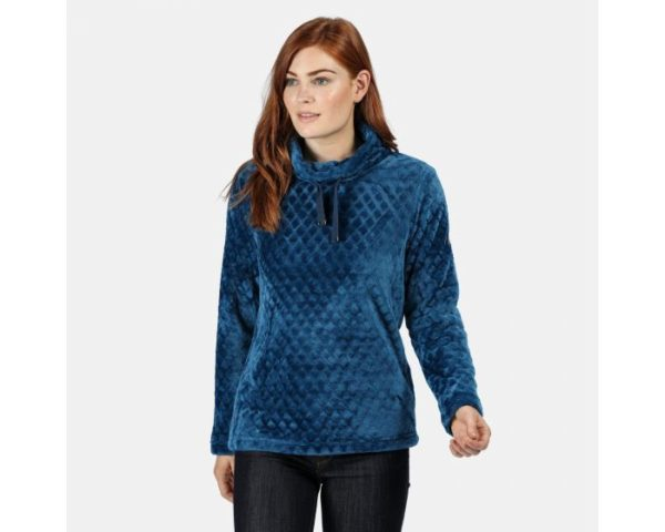 Women's Haniska Diamond Pile Fleece Blue Opal loving the sales