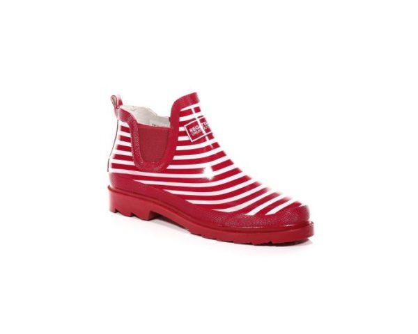 Women's Harper Low Wellington Boots Cerise White loving the sales