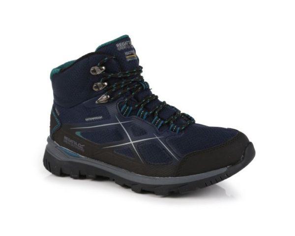 Women's Kota Ii Waterproof Mid Walking Boots Navy Shoreline Blue loving the sales