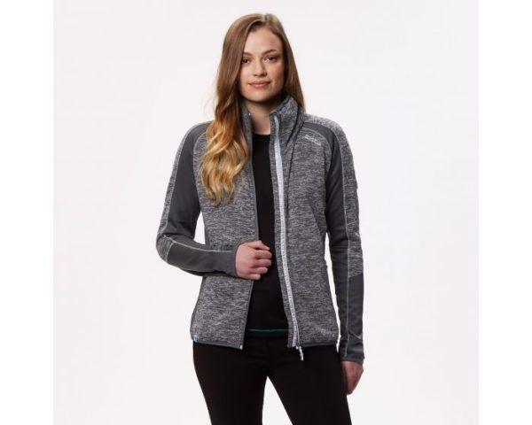 Women's Laney V Knit Effect Fleece Seal Grey loving the sales