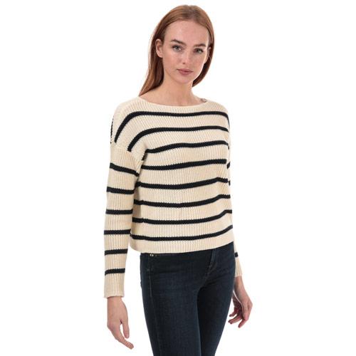 Womens Marina Life Striped Jumper loving the sales