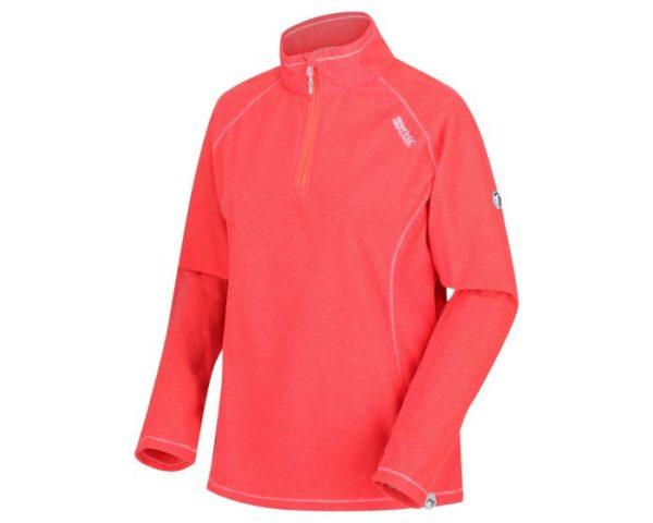 Women's Montes Lightweight Half-Zip Fleece Fiery Coral loving the sales