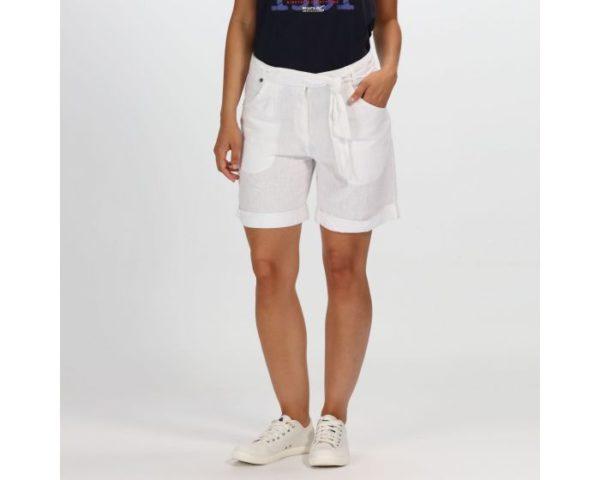 Women's Samarah Coolweave Cotton Shorts White loving the sales