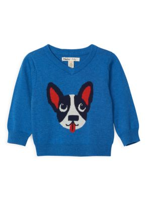 Baby Boy's Playful Puppy Sweater loving the sales