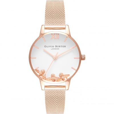 Busy Bees Rose Gold Mesh Watch loving the sales