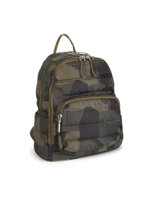 Camo-Print Backpack loving the sales