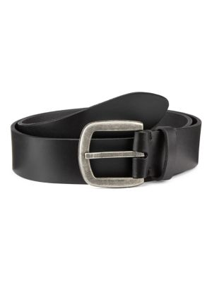 Collection Burnished Buckle Leather Belt loving the sales