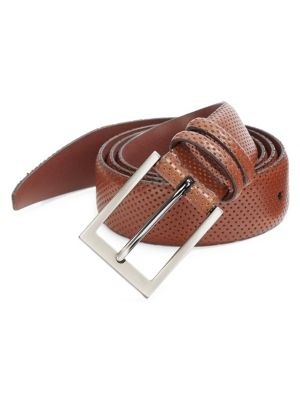 Collection Perforated Leather Belt loving the sales