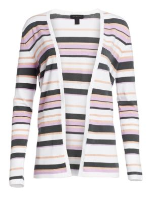 Collection Viscose Elite Open Front Striped Cardigan loving the sales
