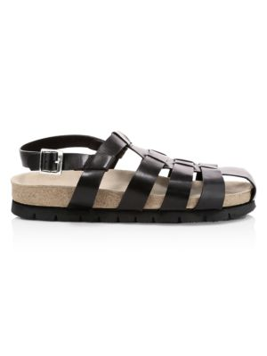 Cyrus Leather Walking Sandals loving the sales