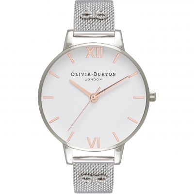 Embellished Vintage Bow Silver Mesh Watch loving the sales