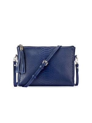 Hailey Python-Embossed Leather Crossbody Bag loving the sales