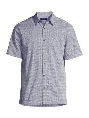 Irving Lumen Print Shirt loving the sales