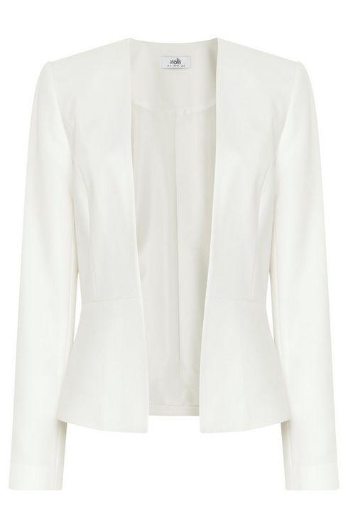 Ivory Smart Tailored Jacket