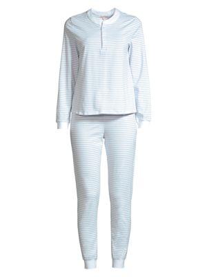 Kaia 2-Piece Striped Pajama Set loving the sales