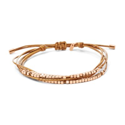 Ladies Fossil Gold Plated Bracelet loving the sales
