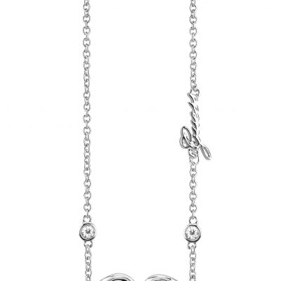 Ladies Guess Silver Plated Grace Necklace loving the sales