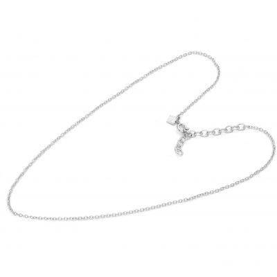 Ladies Mya Bay Silver Plated 52cm Simple Branded Chain Necklace loving the sales