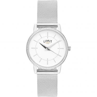 Ladies Silver Coloured Mesh Bracelet Watch loving the sales