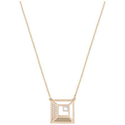 Ladies Swarovski Rose Gold Plated Hillock Necklace loving the sales