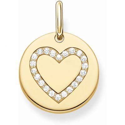 Ladies Thomas Sabo Sterling Silver Pendant Charm loving the sales
