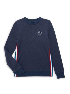 Little Kid's & Kid's Racing Stripe Sweatshirt loving the sales