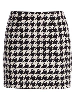 Livia Houndstooth Mini Skirt loving the sales