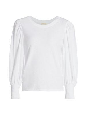 Loren Slim-Fit Long Puff-Sleeve T-Shirt loving the sales