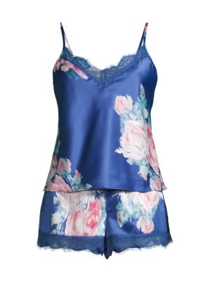 Lovely Rita Floral 2-Piece Camisol & Shorts Pajama Set loving the sales