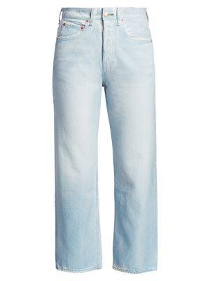 Maya High-Rise Ankle Straight Jeans loving the sales