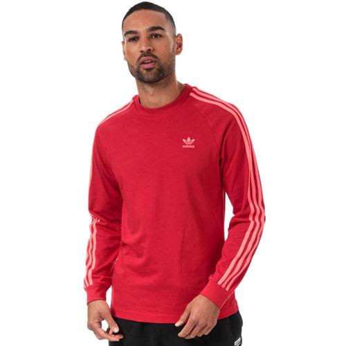 Mens 3-Stripes Long Sleeve T-Shirt loving the sales