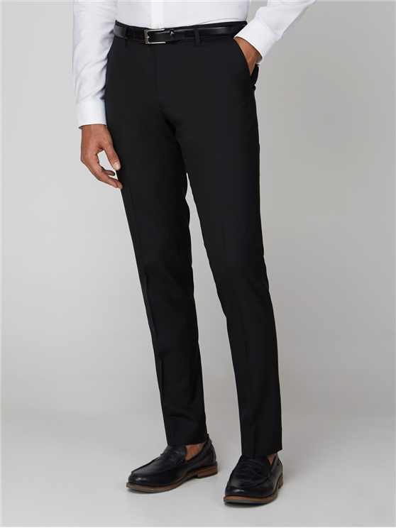 Men's Black Skinny Fit Tonic Trousers   Ben Sherman   Est 1963 - 36l loving the sales