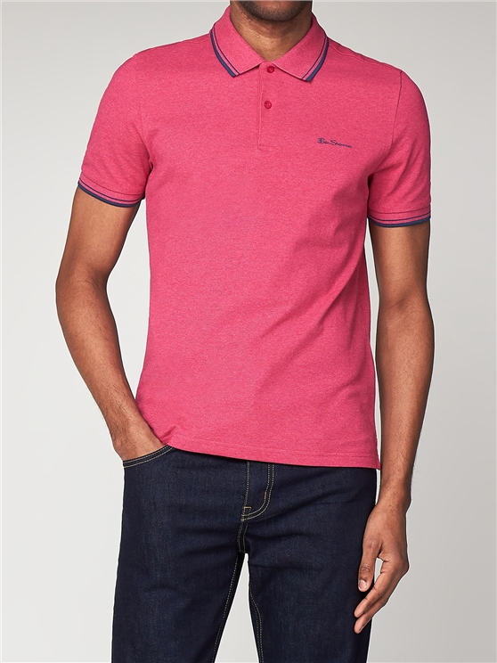 Men's Bright Pink Romford Polo Shirt | Ben Sherman | Est 1963 loving the sales